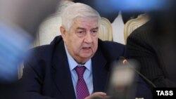 The Syrian proposal was made by Foreign Minister Walid al-Muallem after talks in Moscow with his Russian counterpart.