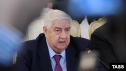 Глава МИД Сирии Валид аль-Муаллем.