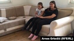 Selvedina Sejdinović i njena kćerka uselile su u novu kuću