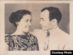 Супруги Бейе и Ибраим Ильясовы. Узбекистан, город Ангрен, 1960-е годы