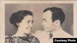 Подружжя Бейє та Ібраїм Ільясови. Узбекистан, місто Ангрен, 1960-і роки