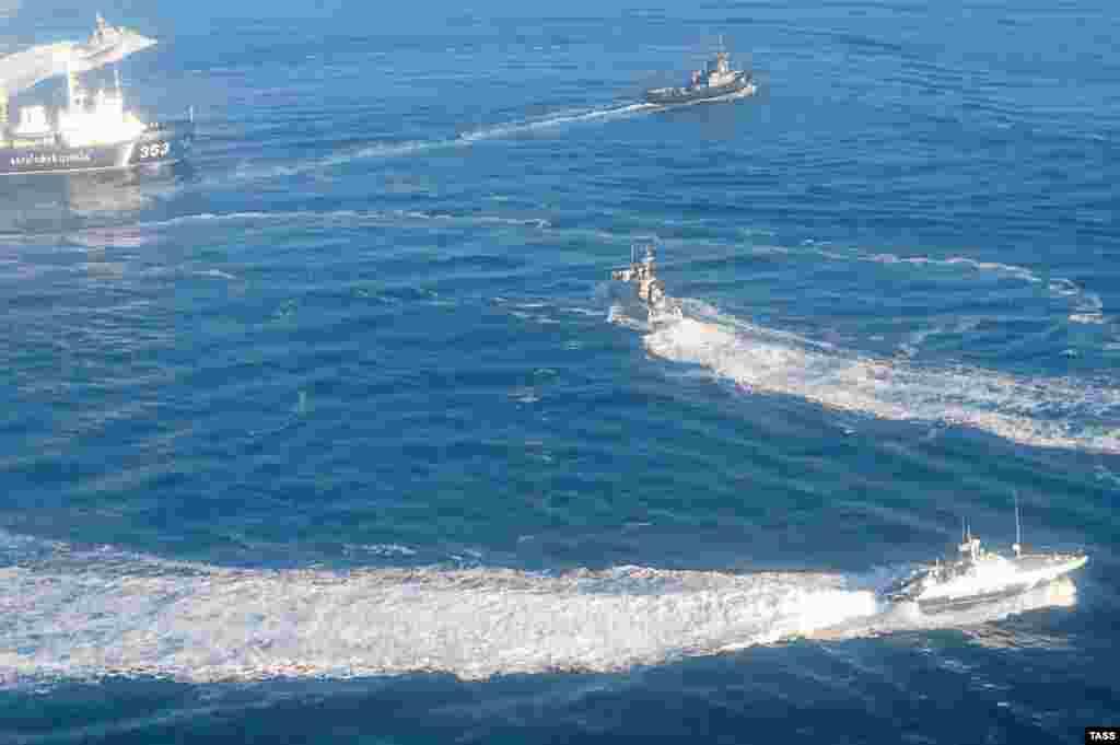 25 листопада російські військові в нейтральних водах Керченської протоки таранили, обстріляли і захопили три плавзасоби ВМС України – катера «Бердянськ» і «Нікополь» і буксир «Яни Капу»