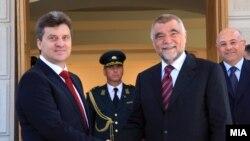 Ovo nije prvi susret dvojice predsednika - Gjorge Ivanov i Stjepan Mesić