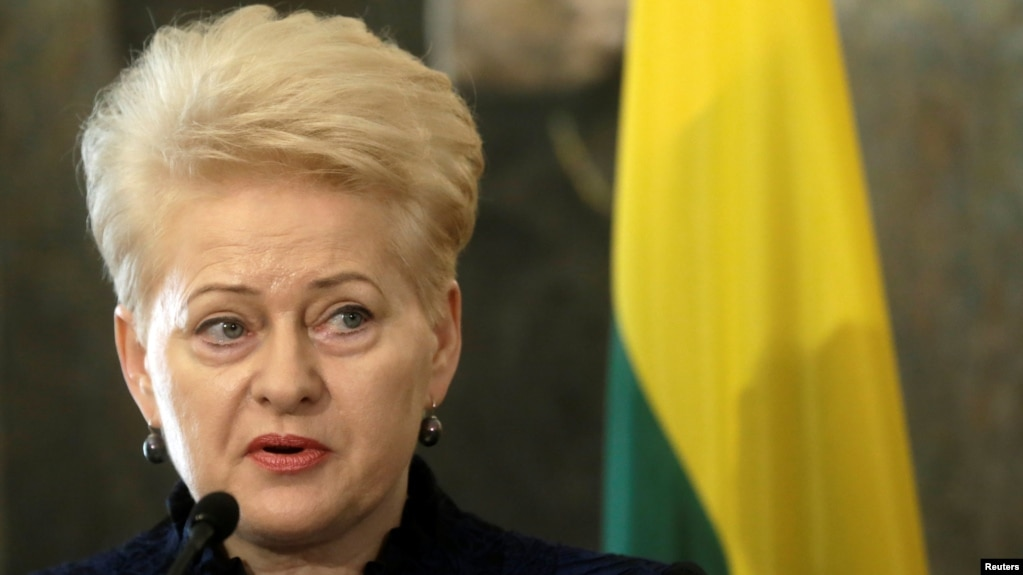 On February 9, President Dalia Grybauskaite said the Baltic states will seek additional security measures from the United States and NATO ahead of a large annual Russian military exercise, called Zapad (West), that is due to be held in September.