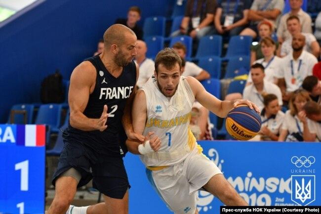 Україна – Франція. Європейські ігри