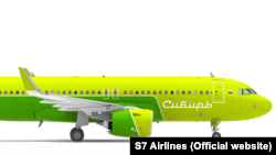 Проект покраски ливреи самолёта