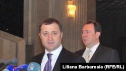Vald Filat și Alexandru Tănase