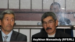Руслан Күлекбаевтың адвокаты Ғабит Құсайынов. Алматы, 25 қазан 2016 жыл.