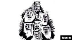 تصویری که به گفته خبرگزاری تسنیم هکرها بر صفحات هکشده منتشر کردهاند
