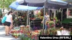 La piața din Cahul