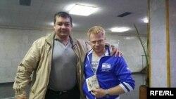 Юхим Брантман та Олександр Кікін. Київ, 27 вересня 2016 р