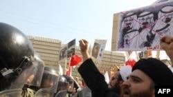 Протести во Иран против кралот на Бахреин
