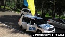 Иллюстрационное фото. Представители ООН в Украине