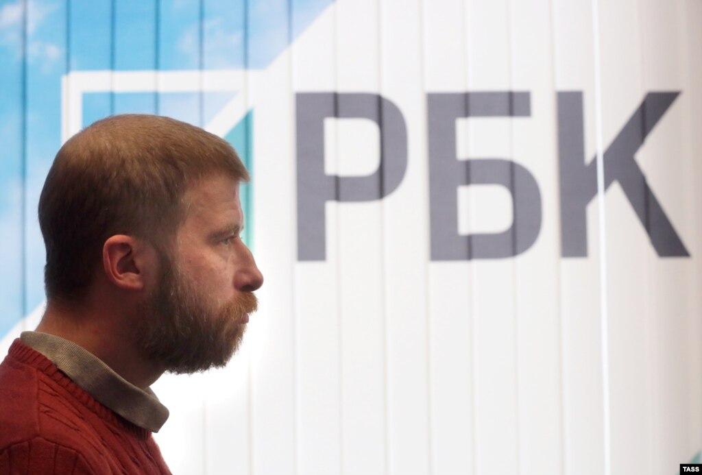 Уволенный с должности главного редактора газеты РБК Максим Солюс