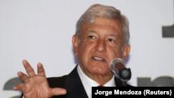 Кандидат на посаду президента Мексики від лівих сил Андрес Мануель Лопес Обрадор