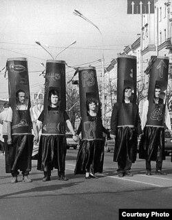 Чарнобыльскі шлях. Менск. 25 красавіка 1998.