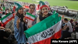 The Iran-Cambodia game in Tehran on October 10 will mark the first time since shortly after the Islamic Revolution in 1979 that women can watch a men's match without needing special, rare invitations. (file photo)