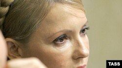 Prime Minister Yulia Tymoshenko at a parliament session in Kyiv on March 31