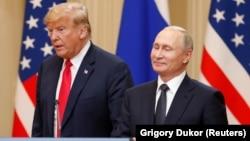 Трамп ва Путин дар мулоқоти Ҳелсинки. 16 июли соли 2018