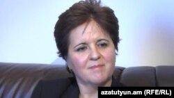 Руководитель армянского представительства Международного валютного фонда (МВФ) Тереза Дабан Санчес (архив)