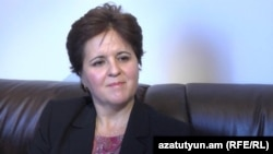 Armenia -- The IMF resident representative in Armenia, Teresa Daban-Sanchez, 1 October 2013