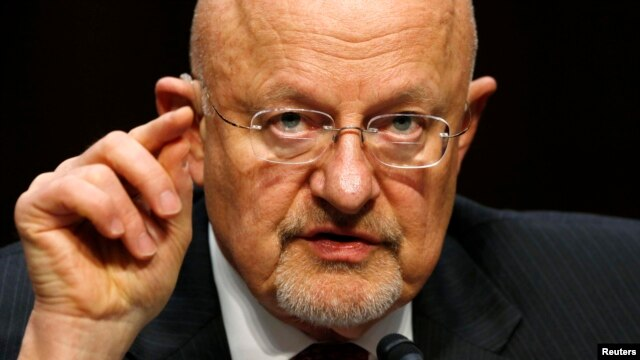 جیمز کلپر، مدیر سازمان اطلاعات ملی آمریکا.