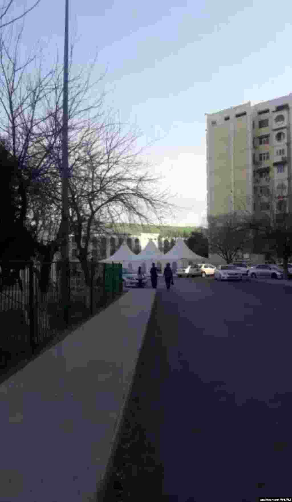 Свадебные шатры, Ашхабад