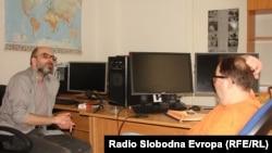 Ivica Đikić u razgovoru sa Enisom Zebićem