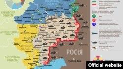 Ситуація в зоні бойових дій на Донбасі, 19 вересня 2015 року