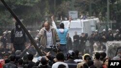 Trg Tahrir, januar 2013.