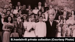 Свадьба Бидзины Иванишвили и Эки Хведелидзе 19 октября 1991 г.