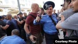 Напад на журналістів у центрі Києва, 18 травня 2013 року