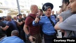 Напад на журналістів під час масових акцій, Київ, 18 травня 2013 року