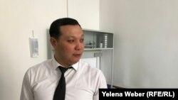 Тимур Ермагамбетов, директор Института судебных экспертиз по Карагандинской области, Караганда, 25 февраля 2019 года.