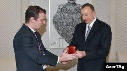 İlham Əliyevə ali paralimpiya mükafatı təqdim edilir.