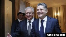 Հայաստանի և Բելառուսի վարչապետների հանդիպումը Սանկտ Պետերբուրգում, 20-ը նոյեմբերի, 2013թ․