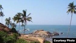 India -- Anjuna beach in Goa, undated