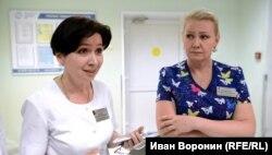 Татьяна Козаева (слева)