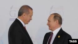 Redžep Tajip Erdogan i Vladimir Putin
