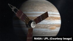 "Anija ""Juno"" afër Jupiterit"
