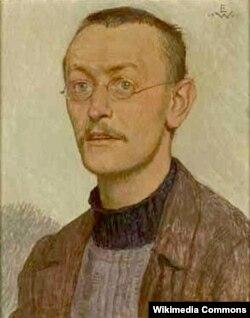 Hermann Hesse-nin portreti (Müəllif: Ernst Würtenberger)