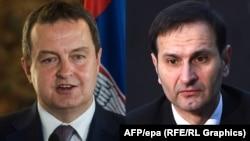 Ivica Dačić i Miro Kovač