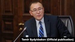 Председатель Национального банка Толкунбек Абдыгулов.