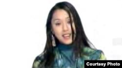 Uzbekistan - Pop Singer Sevara Nazarkhon. Undated