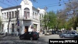 Перекресток улиц Пушкина и Гоголя в Симферополе