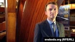 Юры Штапко на Сусьветным форуме за дэмакратыю ў Страсбуры