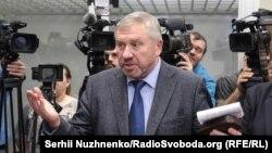 Бывший глава Нацгвардии Украины Юрий Аллеров 17 мая 2019 года во время суда