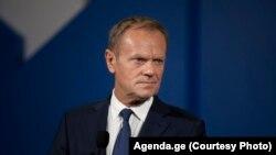 Претседателот на Европскиот совет, Доналд Туск