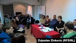"""Susret u Sarajevu """"Čitanje za Fajada"""", 14. januar 2016."""