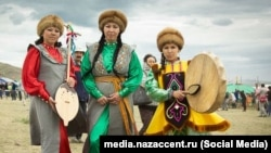 The activists are known for their campaign to shut down coal-mining operations in regions inhabited by the Turkic-speaking Shor people (pictured), one of Siberia's oldest indigenous groups.